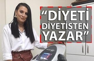 """GÜNEŞ: """"DİYETİ DİYETİSTEN YAZAR"""""""