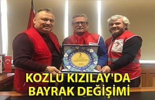 Kozlu Kızılay'da bayrak değişimi