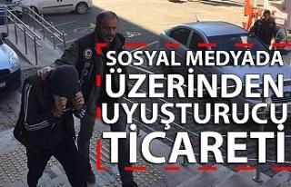 SOSYAL MEDYADA ÜZERİNDEN UYUŞTURUCU TİCARETİ...