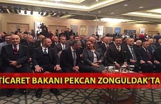 Ticaret Bakanı Pekcan Zonguldak'ta