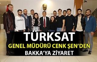 TÜRKSAT Genel Müdürü Cenk Şen'den BAKKA'ya...