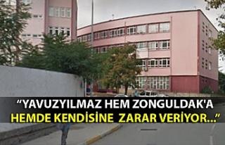 """""""YAVUZYILMAZ HEM ZONGULDAK'A HEMDE KENDİSİNE..."""