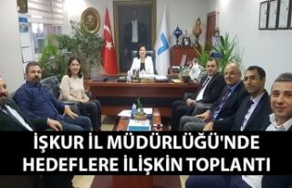 Zonguldak İŞKUR İl Müdürlüğü'nde hedeflere...