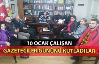 10 Ocak çalışan gazeteciler gününü kutladılar