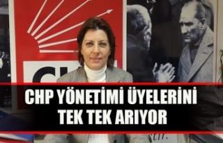 CHP yönetimi üyelerini tek tek arıyor