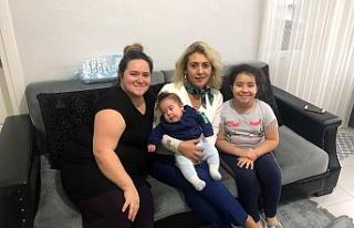 """""""Hoş geldin bebek"""" ziyaretleriyle aileler seviniyor"""