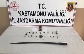 Jandarma ekiplerinden arkeolojik eser kaçakçılarına...