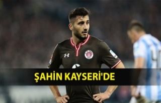 ŞAHİN KAYSERİ'DE
