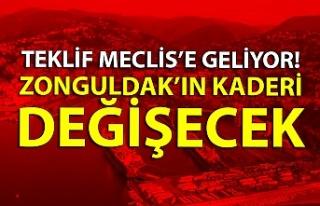 Teklif Meclis'e geliyor! Zonguldak'ın kaderi...