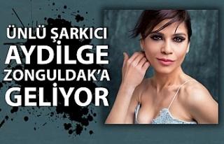 Ünlü şarkıcı Aydilge Zonguldak'a geliyor…