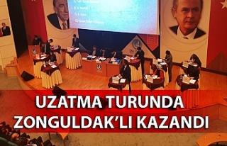 Uzatma turunda Zonguldak'lı kazandı