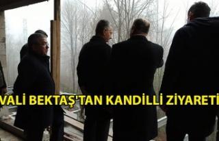 Vali Bektaş'tan Kandilli ziyareti