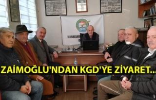 Zaimoğlu'ndan KGD'ye ziyaret...