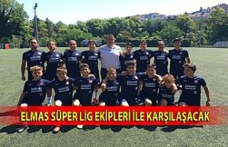 Zonguldak Kömürspor altyapısı Süper Lig ekipleri...