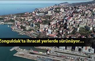 Zonguldak'ta ihracat 2018 Kasım ayına göre...