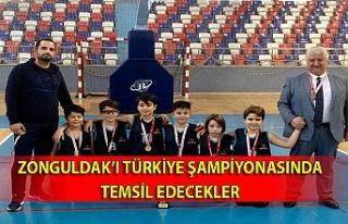 Zonguldak'ı Türkiye şampiyonasında temsil edecekler