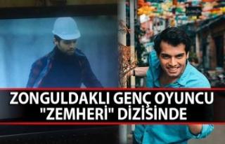 """Zonguldak'lı genç oyuncu """"Zemheri""""..."""