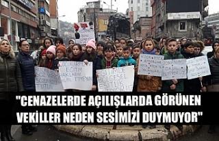 """""""Cenazelerde açılışlarda görünen vekiller..."""