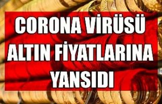Corona virüsü altın fiyatlarına yansıdı