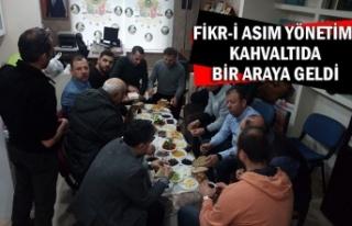 Fikr-i Asım yönetimi kahvaltıda bir araya geldi