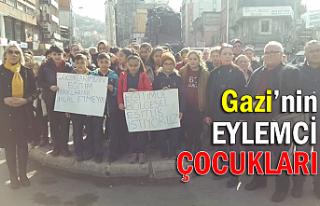 Gazi'nin eylemci çocukları