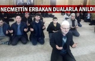 Necmettin Erbakan dualarla anıldı