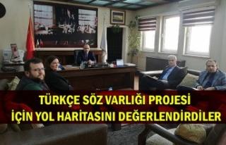 Türkçe Söz Varlığı projesi için yol haritasını...