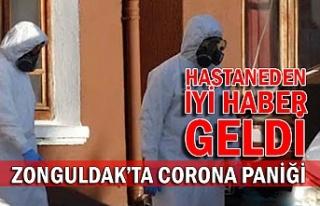 Zonguldak'ta Corona paniği... Hastaneden iyi...