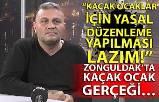 """Zonguldak'ta kaçak ocak gerçeği… """"Kaçak..."""