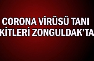 Corona Virüsü tanı kitleri Zonguldak'ta