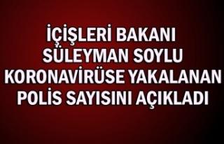 İçişleri Bakanı Süleyman Soylu koronavirüse...