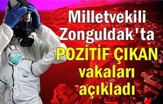Milletvekili Zonguldak'ta POZİTİF ÇIKAN vakaları...