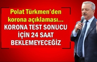 Polat Türkmen'den korona açıklaması... Korona...