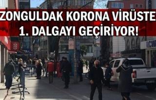 Zonguldak korona virüste 1. dalgayı geçiriyor!