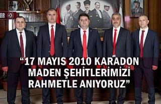 """""""17 Mayıs 2010 Karadon Maden Şehitlerimizi Rahmetle..."""