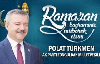 Ak Parti Zonguldak Milletvekili Polat TÜRKMEN Bayram...