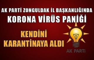 Basın sözcüsünde korona virüs şüphesi