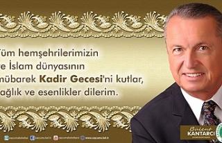 Çaycuma Belediye Başkanı Bülent Kantarcı Kadir...