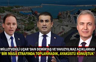 Milletvekili Uçar'dan Demirtaş ve Yavuzyılmaz...