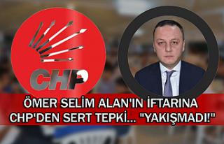 Ömer Selim Alan'ın iftarına CHP'den sert...