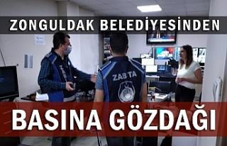 Zonguldak Belediyesi'nden Basın kuruluşlarına...