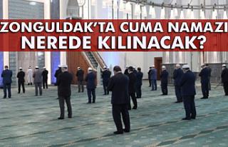 Zonguldak'ta Cuma namazı nerede kılınacak?