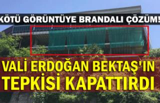 Kötü Görüntüye Brandalı Çözüm! Vali Erdoğan...