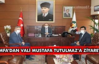 MFA'dan Vali Mustafa Tutulmaz'a ziyaret