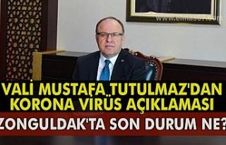 VALİ MUSTAFA TUTULMAZ'DAN KORONA VİRÜS AÇIKLAMASI....