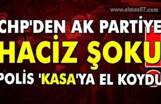 CHP'den AK Partiye haciz şoku!!! Polis 'kasa'ya...