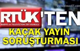 RTÜK'ten kaçak yayın soruşturması