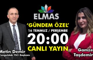 Zonguldak Ticaret ve Sanayi Odası Başkanı Metin...