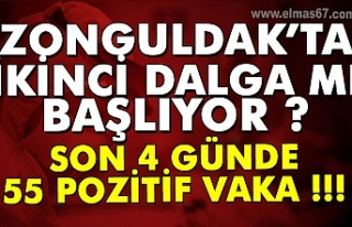 Zonguldak'ta ikinci dalga mı başlıyor? Son...