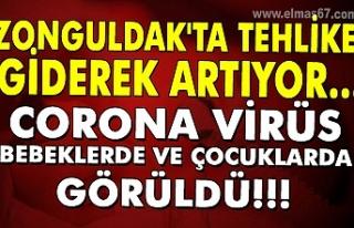 Zonguldak'ta tehlike giderek artıyor... Corona...